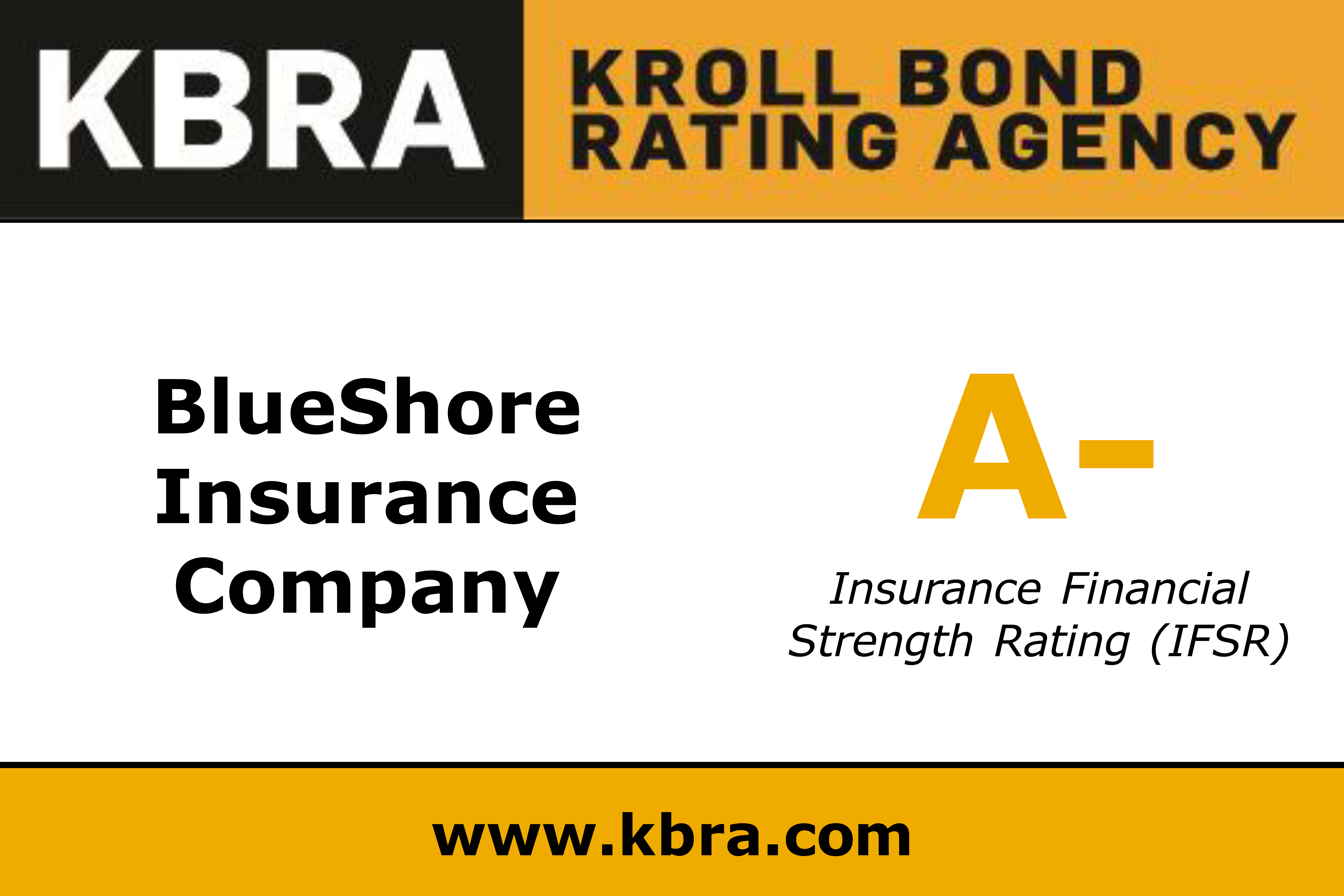 Kroll A- Rating